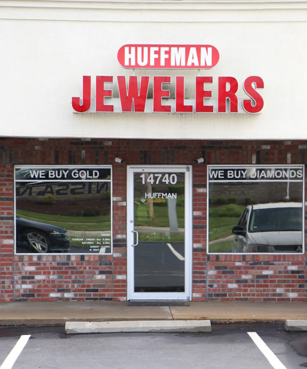 Huffman Jewelers previous St. Louis jewelry store location
